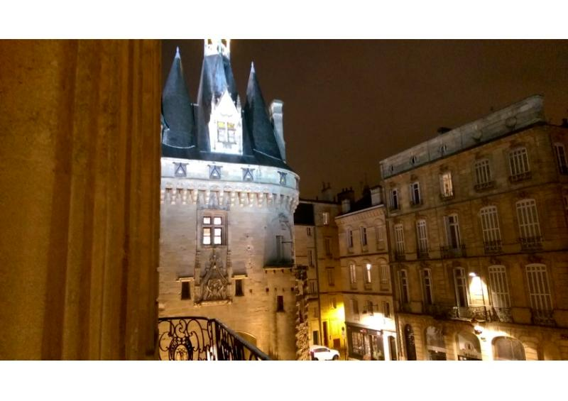 """Magic view of """"Porte Cailhau from the balcony"""