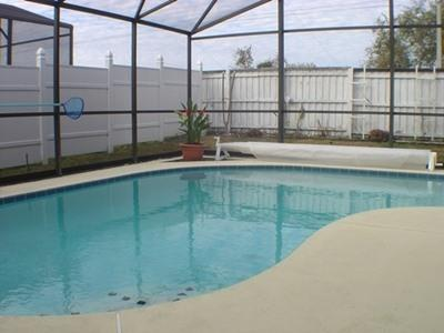 Picture of the heated Pool