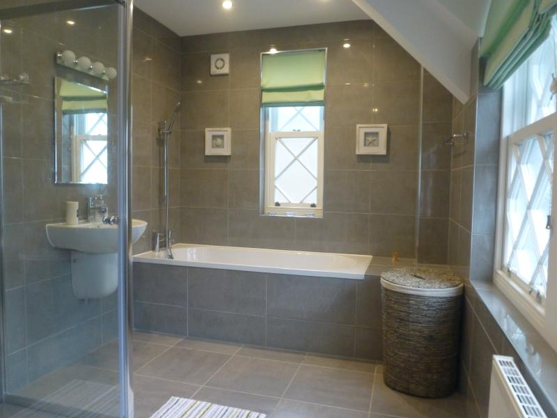 Spacious Family Bathroom - sluice all the kids in one go!