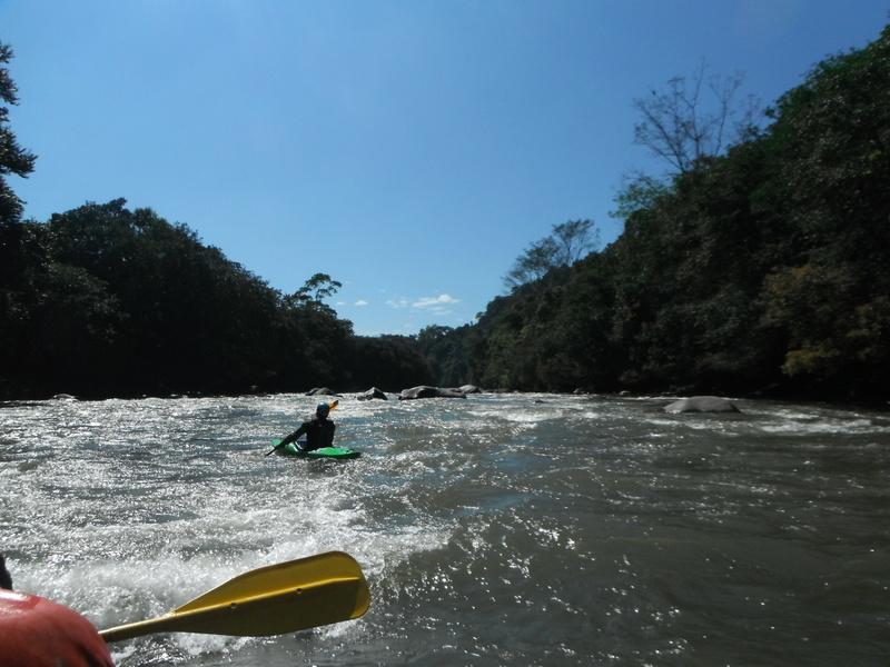Rafting in Panama is treat, as the water in not frigid for once!!