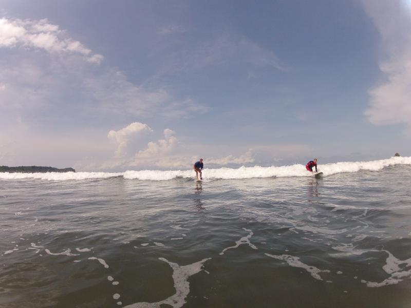 Surfing by Isla Silva with guide from Surfers Paradise
