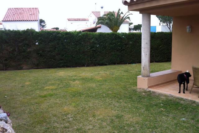 Jardín privado interior de 100m2