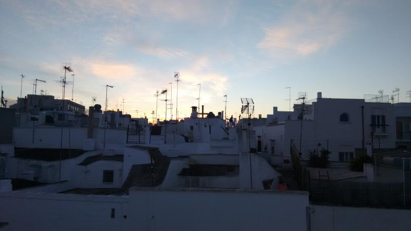 And a white town can be very romantic during sunset!!!