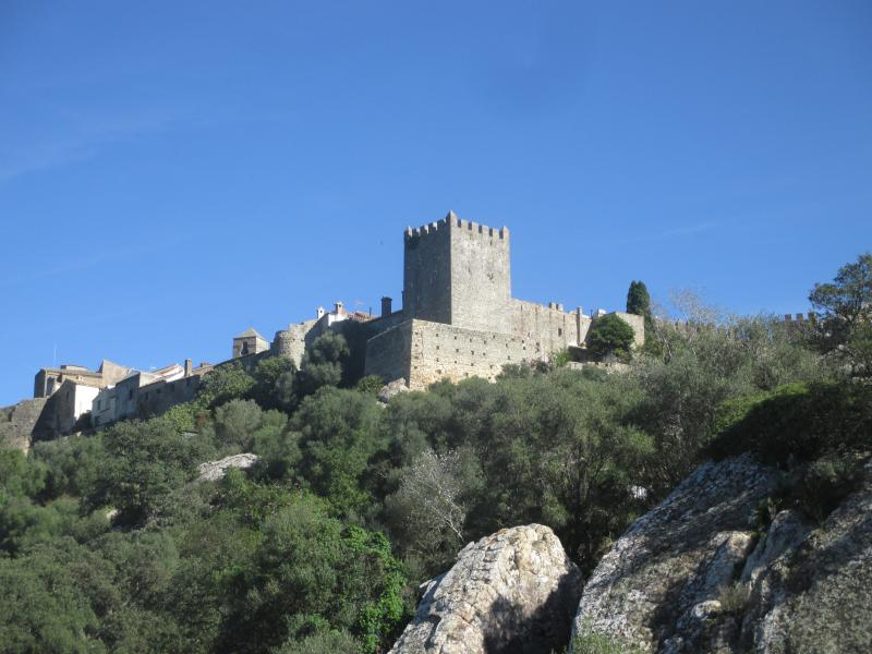 One of many nearby Spanish hilltop castles