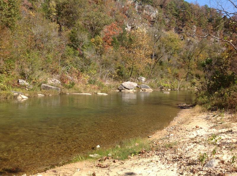 Beautiful Piney Creek Downstream