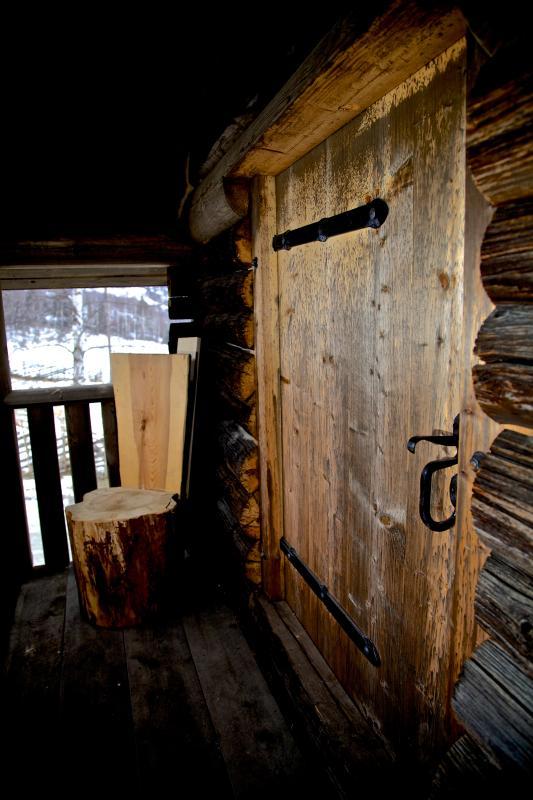 Storehouse entrance