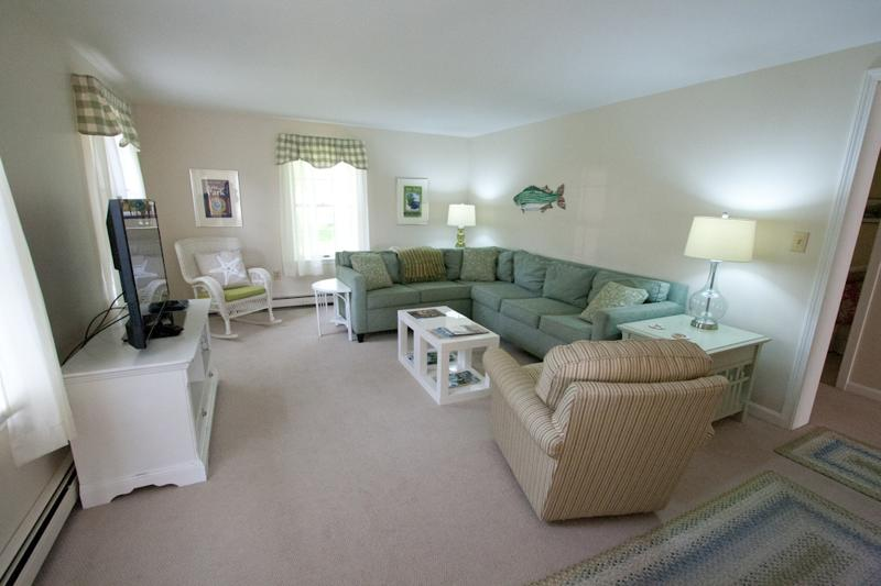 Large living room. Great for movie night or entertaining