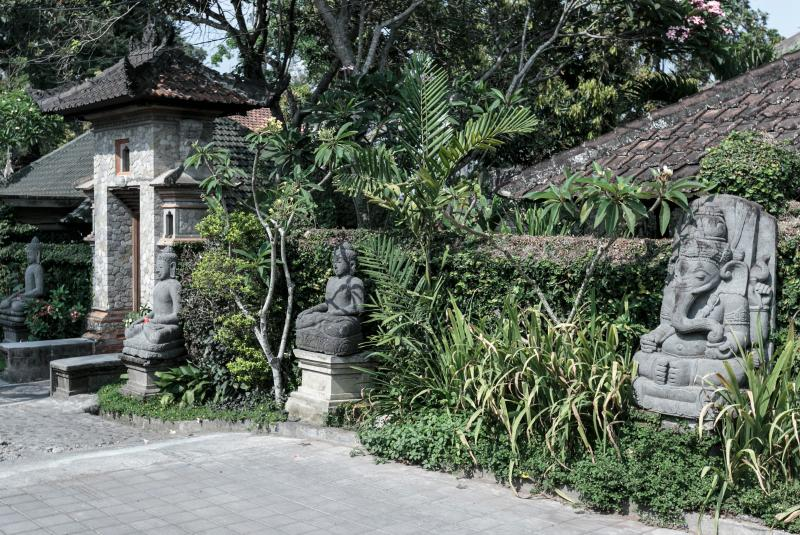 The Entrance, Murni's Houses , Ubud, Bali