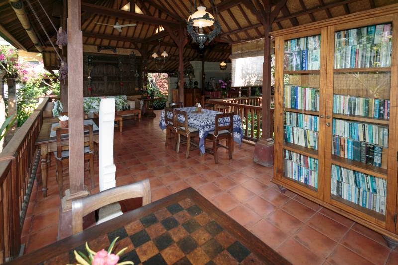 The Eating Area, Murni's Houses , Ubud, Bali