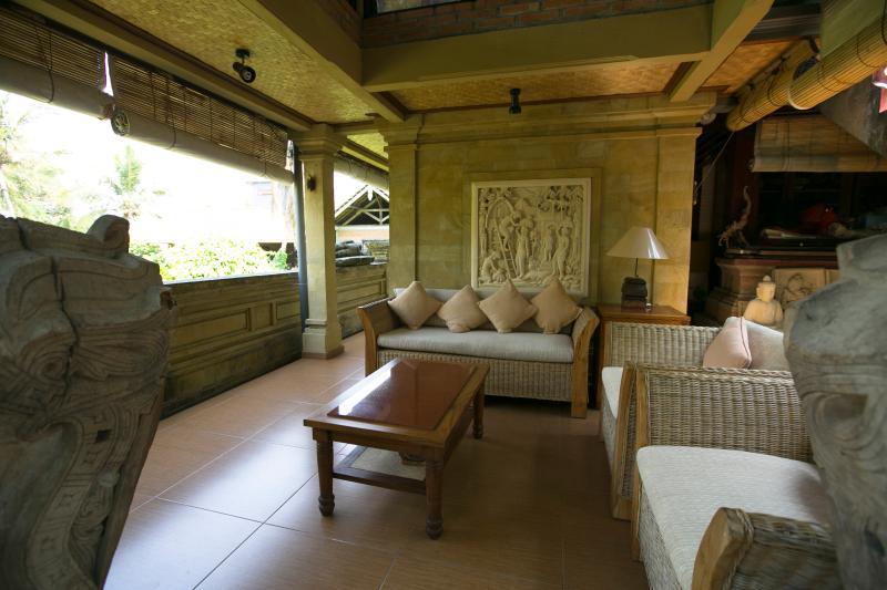 Private Seating Area, Murni's Houses , Ubud, Bali