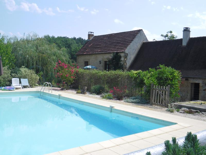 salt-system pool & cottages
