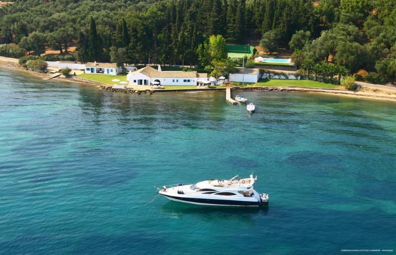 Aphrodite Corfu villas Waterfront Villa