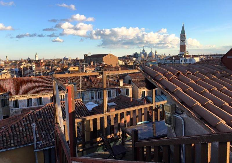 Views from the terrasse: San Marco