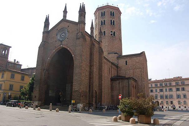 Piazza San Antonio en Piacenza