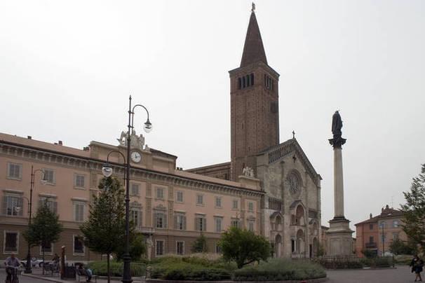 Piazza Duomo de Piacenza