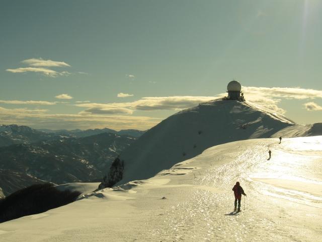 M.Lesima (1.724 m) en Val Trebbia entre las provincias de Piacenza y Pavía