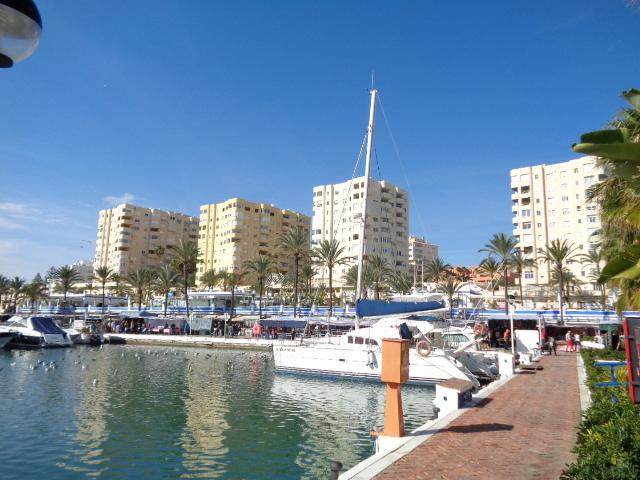 View of Urbanisation from the Marina