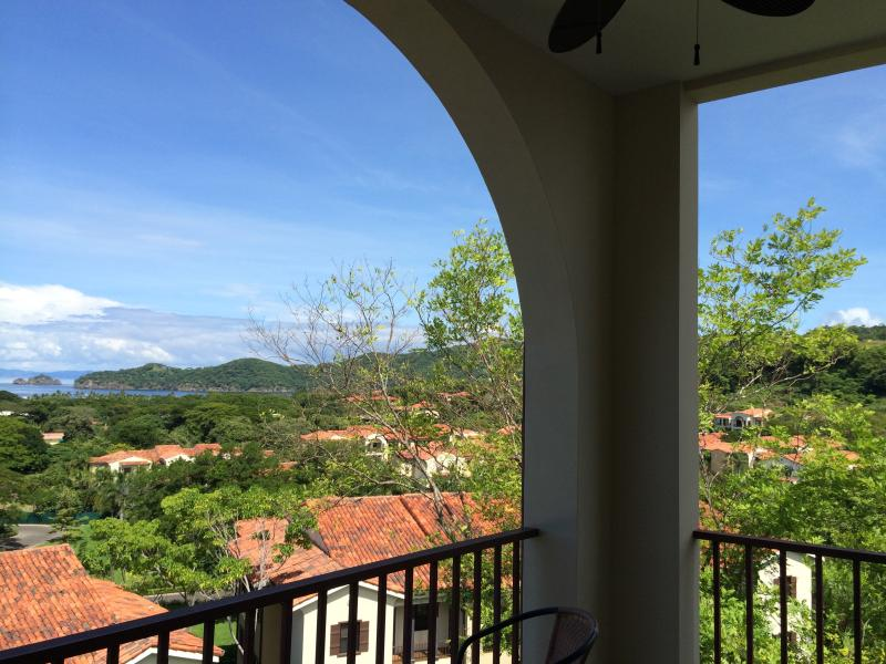 Balcony View to the right.