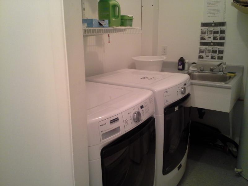 1st laundry room with free access and laundry products