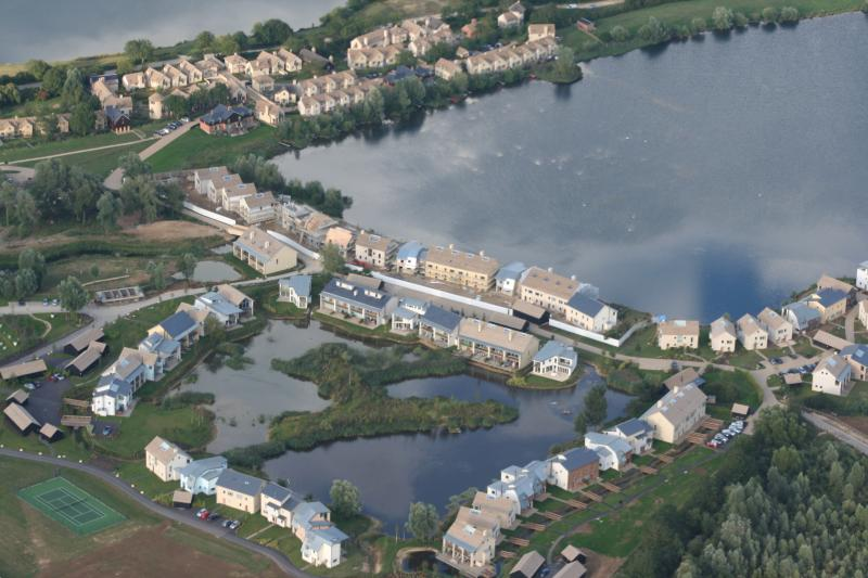 Ariel view of Lower Mill