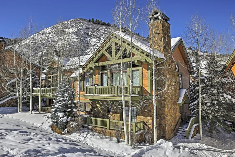 Have the ultimate Rocky Mountain getaway at this stunning Edwards vacation rental townhome!