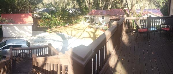 View from the cottage deck