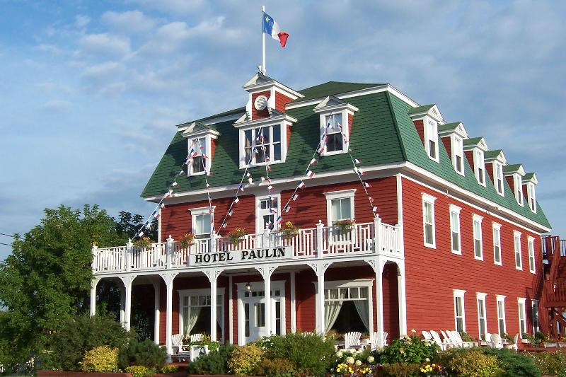 Hotel Paulin, celebrating its Acadian heritage August 15th each year during Festival Acadien