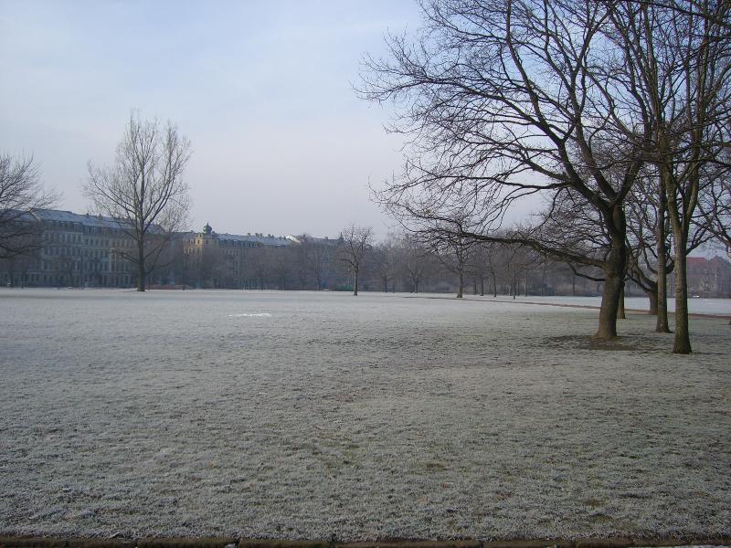Winterstimmung im Alaunpark