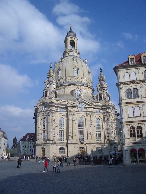 Frauenkirche im neuen Glanz
