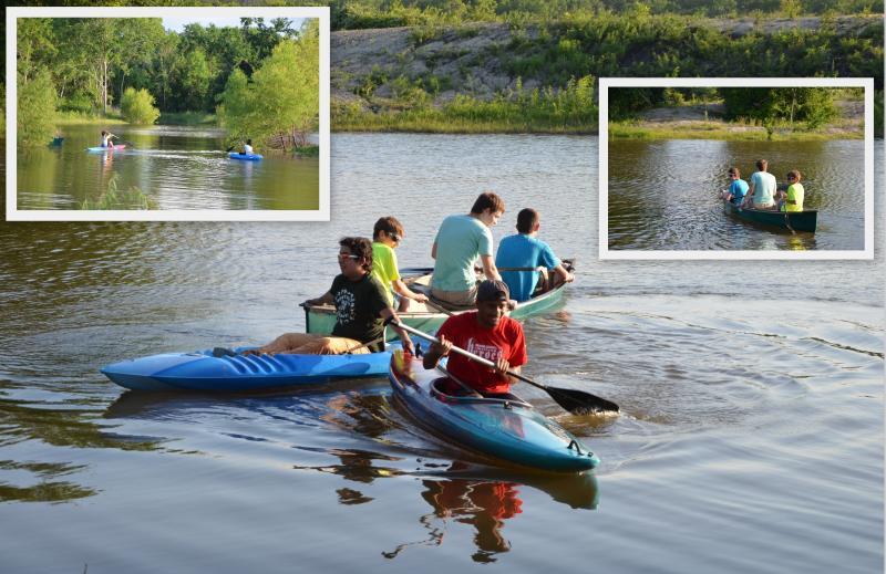 Os hóspedes são bem-vindos para os peixes; captura e libertação, por favor. Temos 3 caiaques e uma canoa, US $ 10 ea / dia