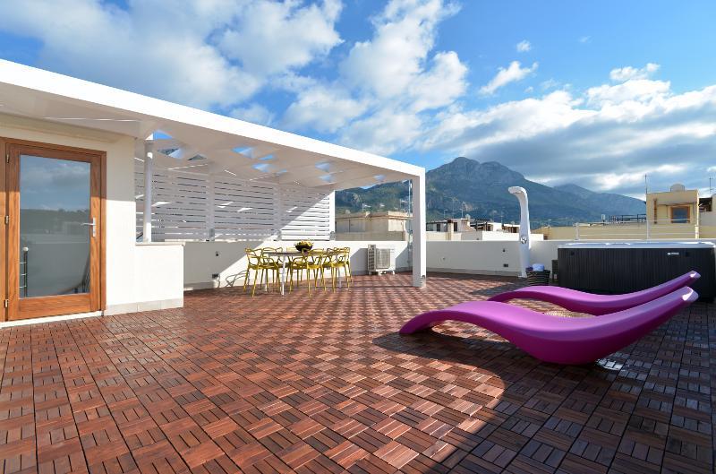 MIRA7-Spa mini pool on the sun a San Vito Lo Capo, casa vacanza a San Vito lo Capo