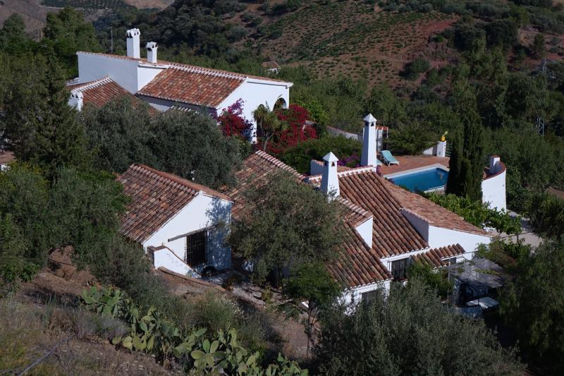 High Above the Mediterranean, holiday rental in Comares