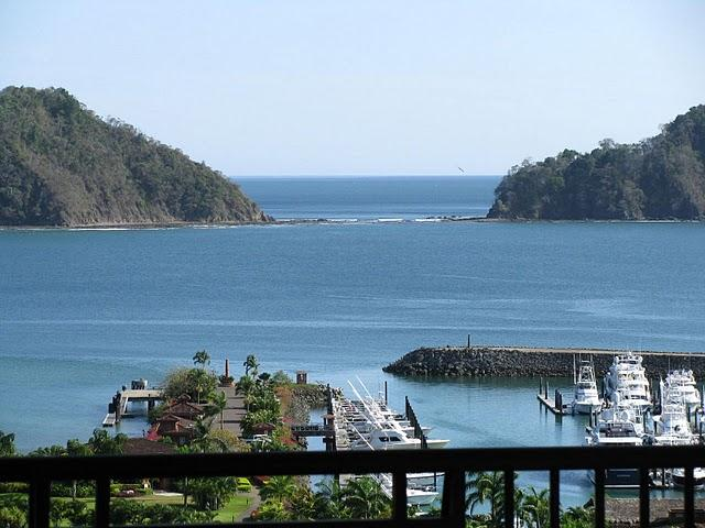 Marbella 1A  has the best view of any condo in all of Los Suenos, according to the developer's wife.