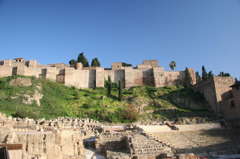 Alcazaba de Málaga, fortress and palace, 20 min away on foot