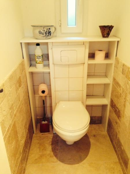 des toilettes  séparées