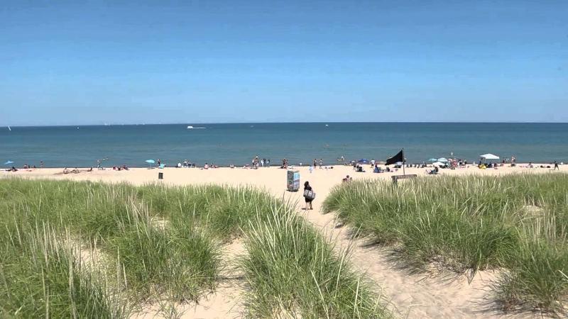Beachwalk's private beach