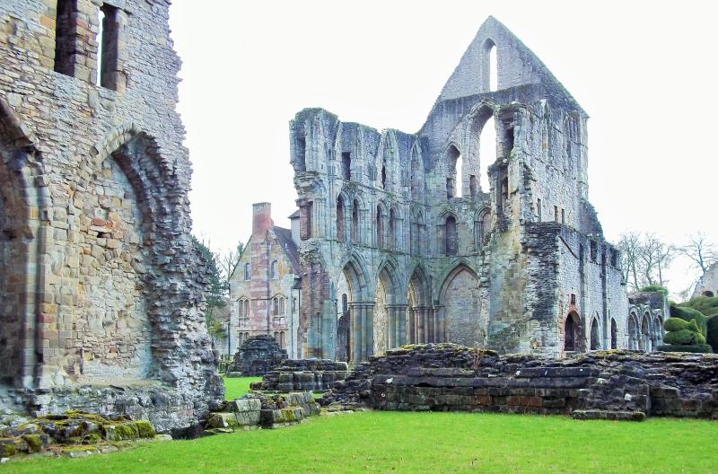 Wenlock Priory - short drive from the house. Picturesque setting in Much Wenlock