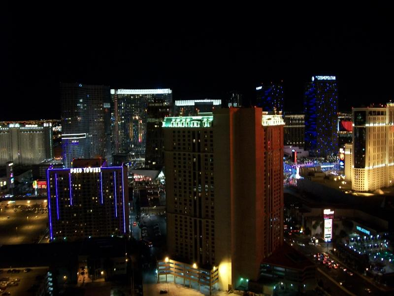 Stunning view of the Las Vegas strip from our Penthouse