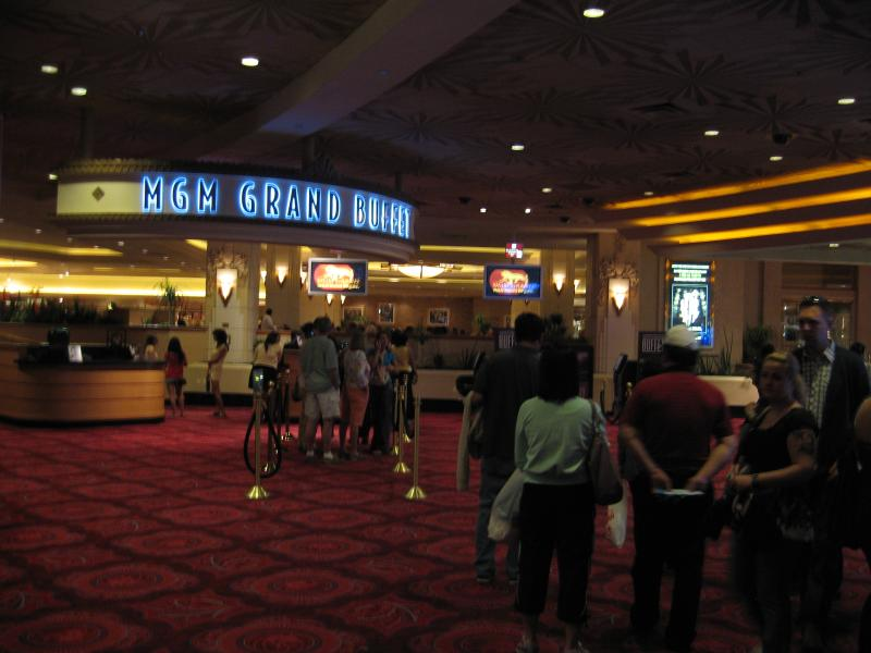 One of over two dozen restaurants in the MGM - the MGM Grand Buffet