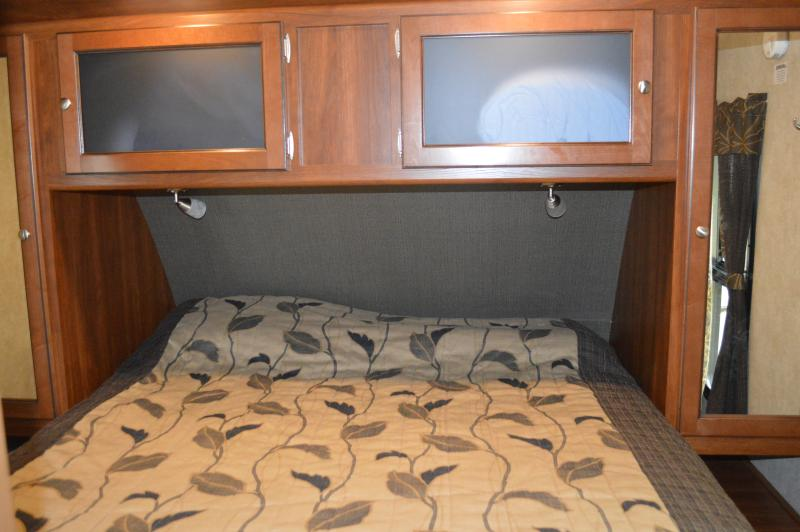 Upgraded RV Queen Pillowtop Bed
