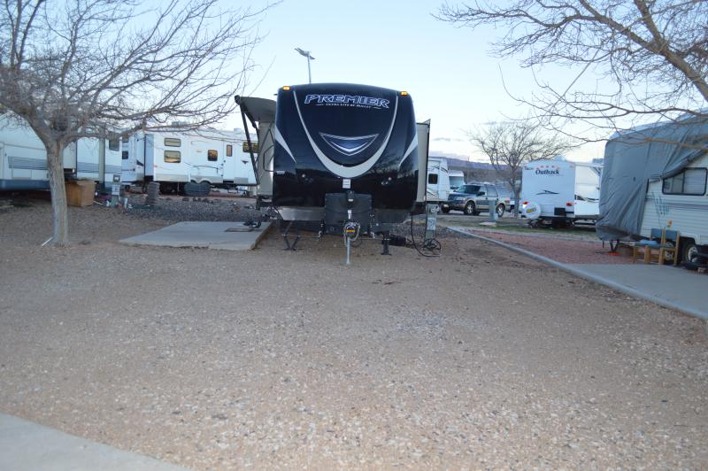 View of RV