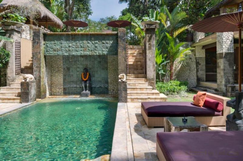 Poolside at Villa Red Palms, Bali