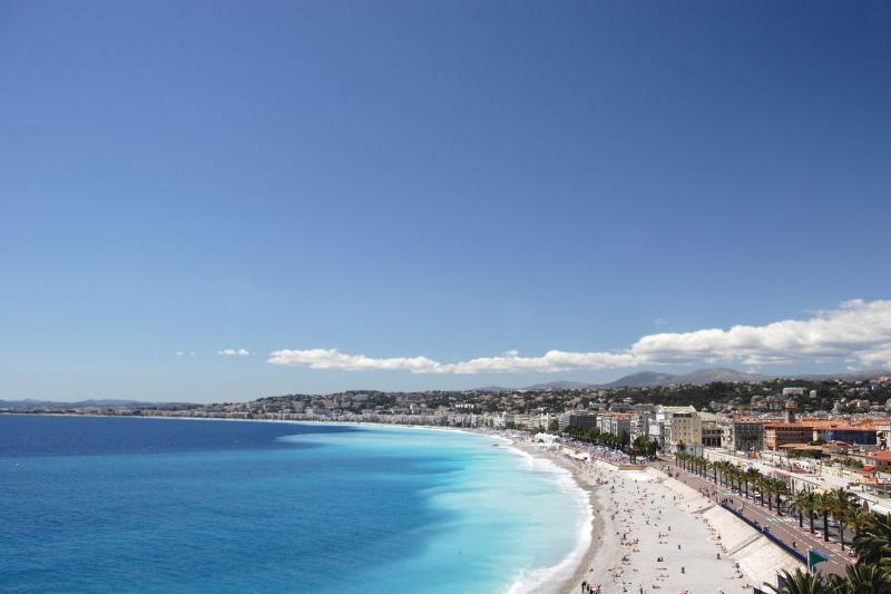 Strand Promenade des Anglais (Strand, Beach, Plage)