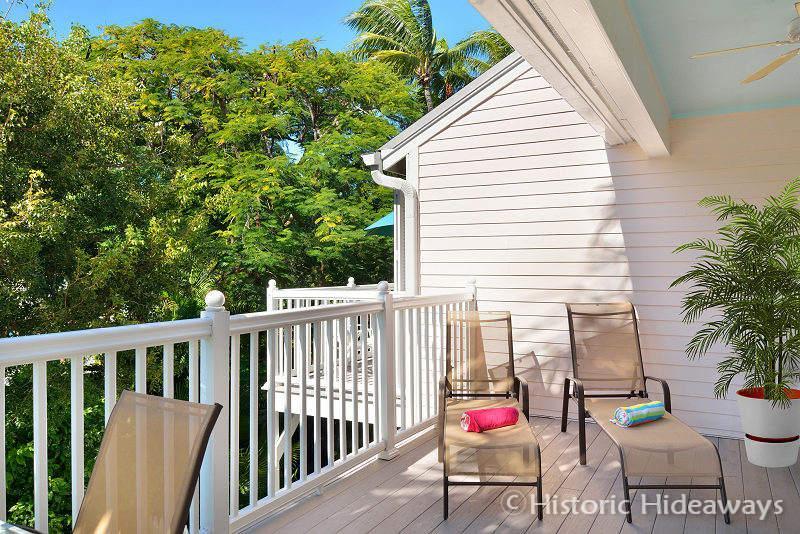 Deck Overlooks Grounds