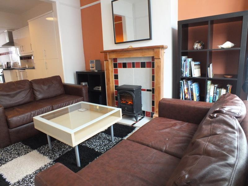 lounge - TV and DVD player, travel books, local maps, selection of children games, CD player