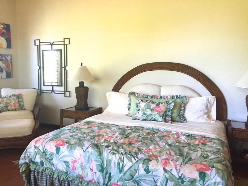 King bed in the Master BR- en-suite.