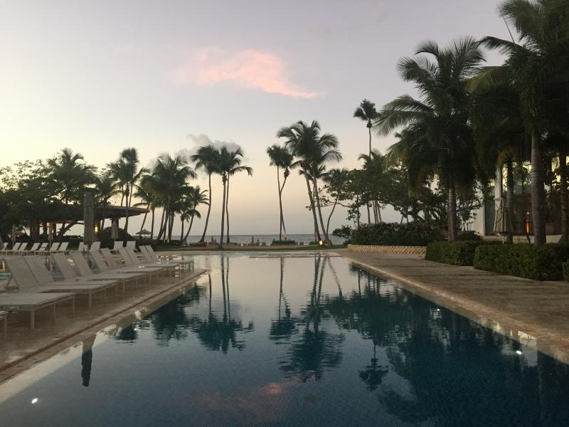 Beach Club at Sunset- great place to dine at Encanto Restaurant nearby.