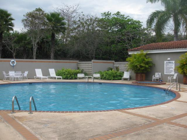 Community pool and hot tub near tennis courts included with your rental