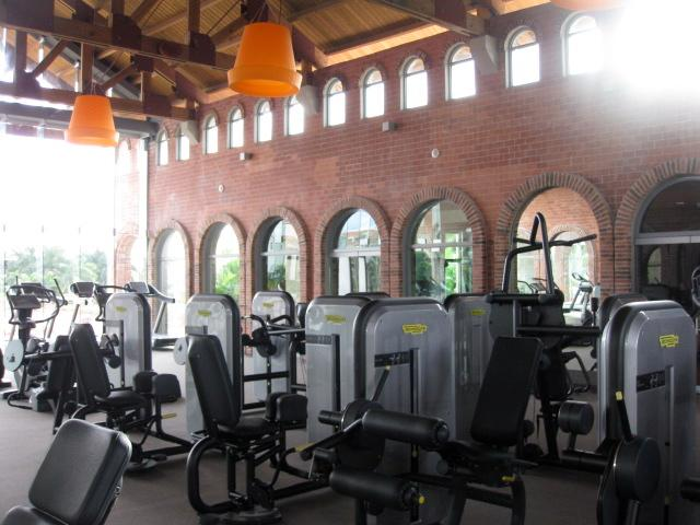 State of the art equipment at the Fitness center