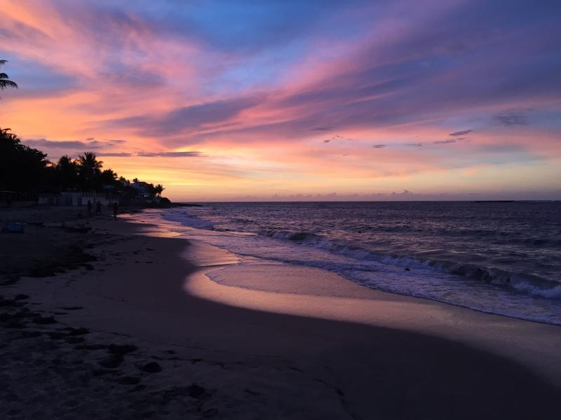 Stunning Sunsets at the resort- photographer's dream